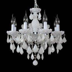 Люстра Crystal Lux INES SP8 WHITE