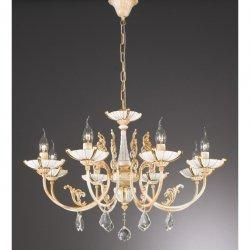 Люстра La LampadaL 590/8.17 Ceramic Gold