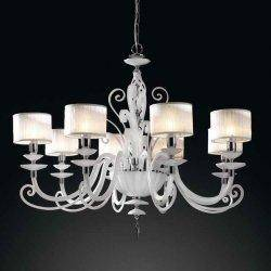 Люстра Euroluce  Alicante White L8 shade