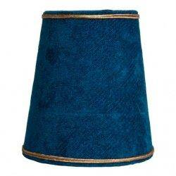 Абажур Eichholtz MINI SHADE BLUE VELVET 109358.33.23