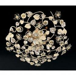 Потолочная люстра Epoca Lampadari  1416/PL5 dec. 401 smoke crystal