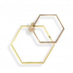 Полотенцедержатель IL Paralume Marina LuxuryHexagon Set BA712