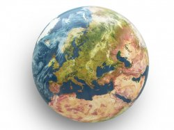 Вешалка Seletti Solar System Earth Europe 13235