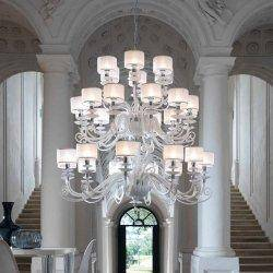 Люстра Euroluce  Alicante White L12+12+6 shade