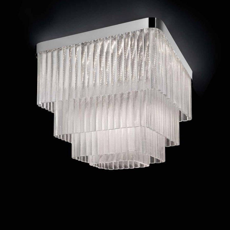 Потолочная люстра Glass&Glass 860F/P CC (Италия) за 568 134 руб. - купить в интернет-магазине WonderLight.
